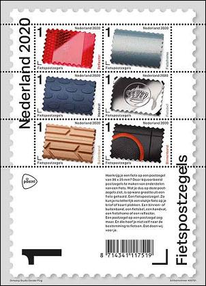 Fietspostzegels Nederland 2020