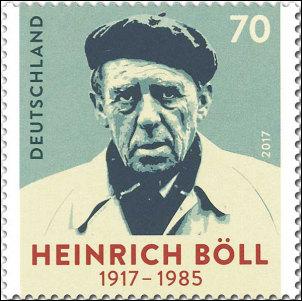 Heinrich Böll op Duitse postzegel