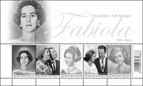Hommage koningin Fabiola