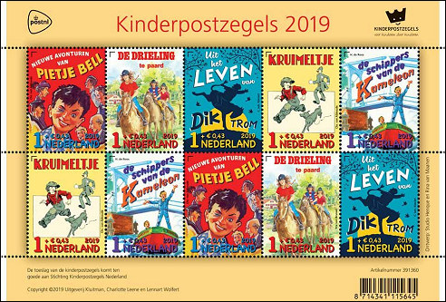 Kinderpostzegels 2019