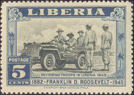 Franklin D. Roosevelt in Liberia