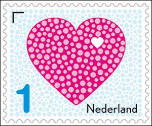 Liefdespostzegel