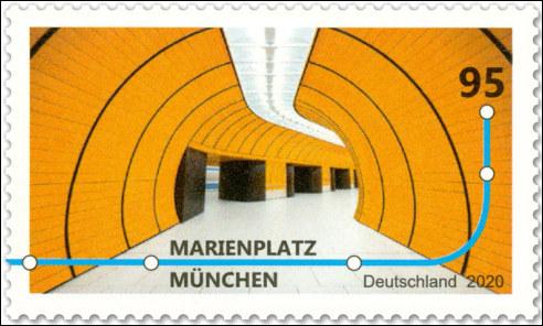 Metrostation Marienplatz in München