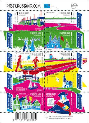 Postcrossing uit Nederland