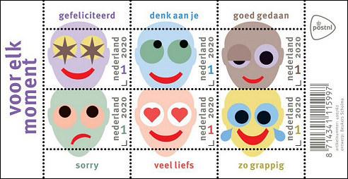 Postzegels voor elk moment