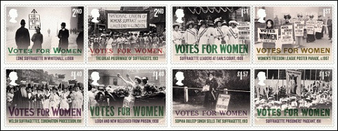 Vrouwenkiesrecht Engeland