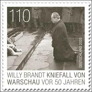 Willy Brandt in Warschau