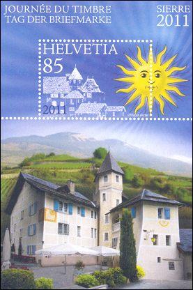 Zwitserland Dag van de Postzegel 2011