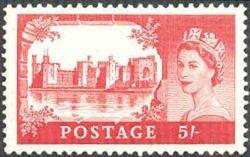 Britse postzegel zonder landnaam