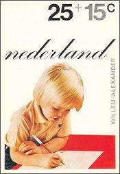 Kinderzegel Willem-Alexander