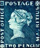 Postzegel Mauritius