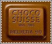 Deze Zwitserse postzegel ruikt naar chocolade
