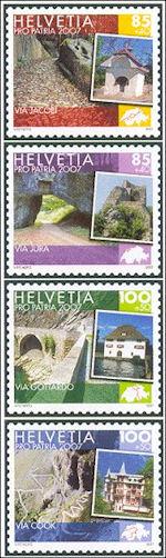 Pro Patria 2007 stamps Switzerland