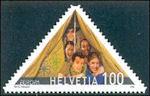 Scout Movement 2007 stamp Switzerland