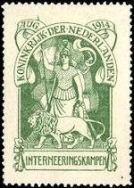 Interneringszegel Nederland