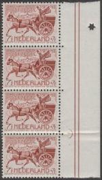Nederland postkar 1943