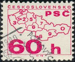 Postcodegebieden Tsjechoslowakije
