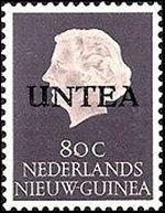UNTEA-postzegel
