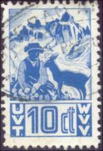 Zwitserse Hotelpostzegel
