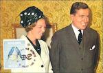 Huwelijkszegel voor Beatrix op de Antillen