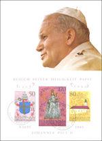 Maximumkaart Liechtenstein: Johannes Paulus II