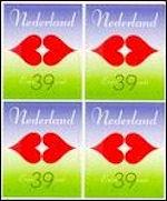 Liefde op Nederlandse postzegel