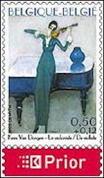 Kees van Dongen op Belgische postzegel
