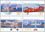 Vliegtuigen op de Zuidpool
