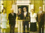 Prins Philip en Mathilde d'Udekem d'Acoz