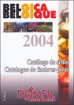 Domfil postzegelcatalogus België 2004