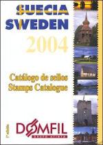 Domfil postzegelcatalogus Zweden 2004