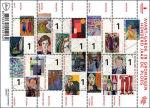 Honderd jaar De Ploeg postzegelvel