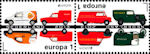 Postauto's op Nederlandse Europazegels