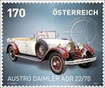 Austro Daimler op postzegel