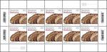 Broodcultuur op Duitse postzegel