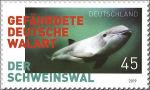 Bruinvis op Duitse postzegel