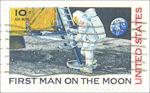 Eerste stap op de maan