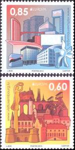 Europazegels 2012 Luxemburg