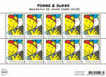 Fokke en Sukke op postzegel