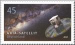 Ruimteonderzoek op Duitse postzegels