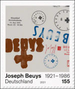 Joseph Beuys op postzegel