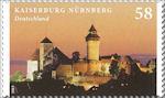 Keizerburcht Neurenberg in serie Burgen und Schlösser