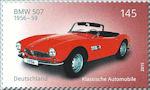 BMW 507 op postzegel