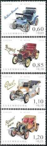 Klassieke auto's uit Luxemburg