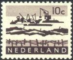 Landschapzegel Deltawerken