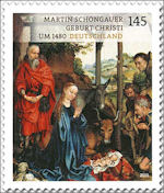 Kerststal van Martin Schongauer