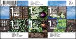 Mijn groentetuin op postzegel
