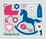 Nederlandse Geboortepostzegel 2015