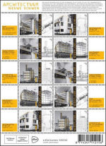 Postzegels over het Nieuwe Bouwen