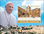 Paus Franciscus in Israël